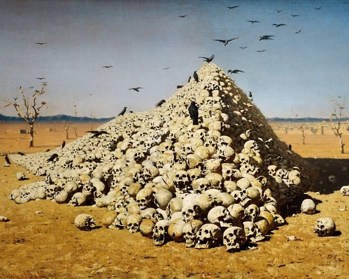 картина Апофеоз войны