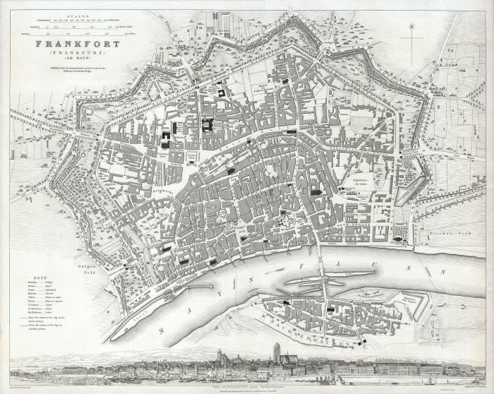 Франкфурт на Майне 1837