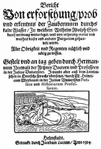 обложка трактата о ведьмах