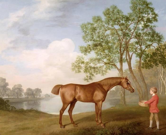 лошадь картина 1774 г