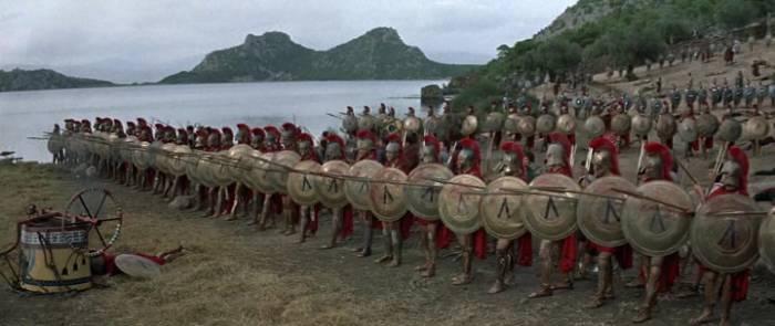 сражение при Фермопилах 300 спартанцев