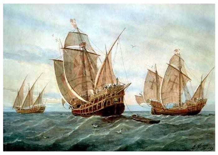 Колумба корабли