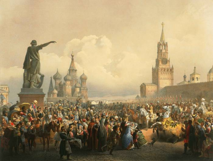 Красная площадь 1856