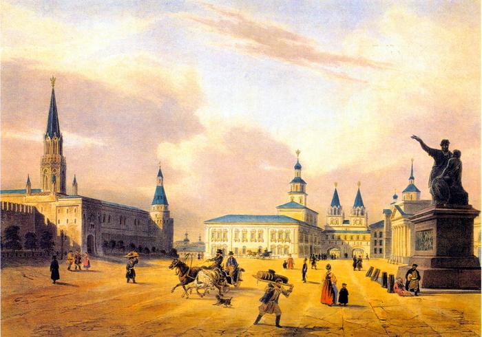 Красная площадь 1850 г