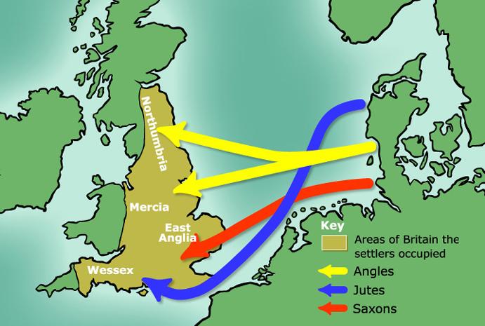 англо-саксонская колонизация Британии
