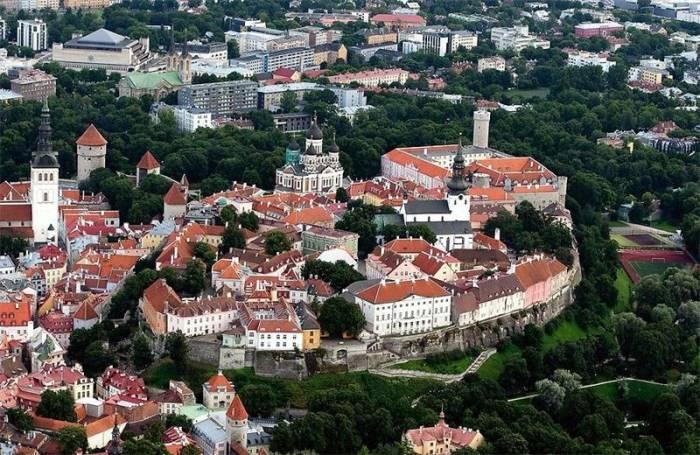 Таллинн старый город