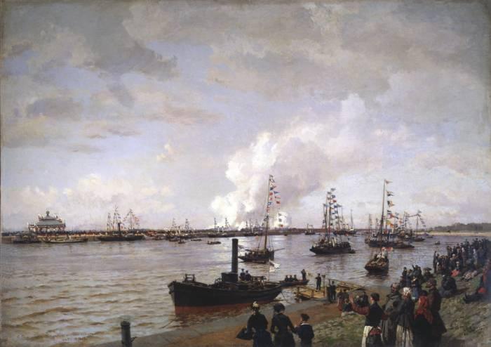 Петербург морской канал