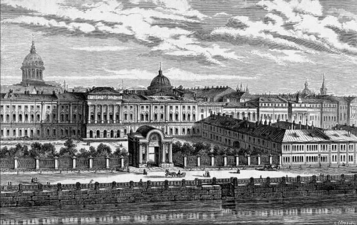 сиротский дом в Петербурге