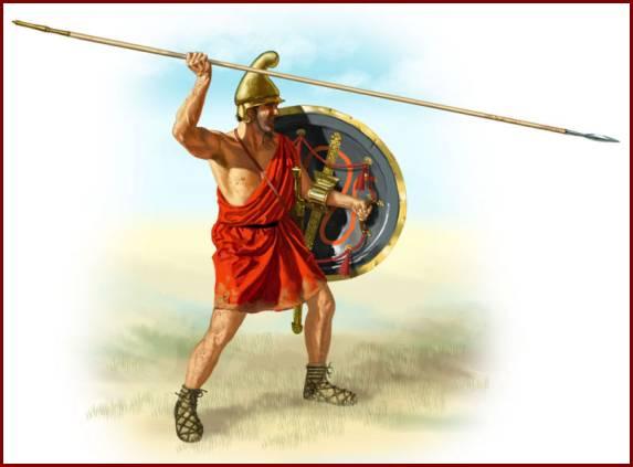 рядовой армии Македонского