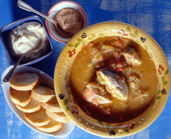 суп буйабес bouillabaisse
