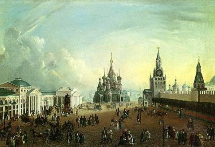 Красная площадь 1830-е