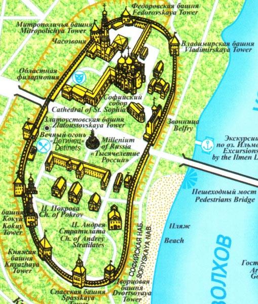 шведский план Новгорода