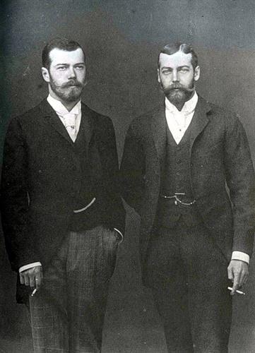 Николай-2 и Георг-5
