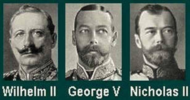 Вильгельм-2, Георг-2, Николай-2