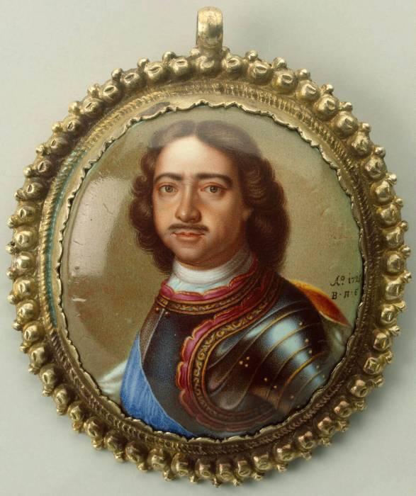 Петр-1 портрет