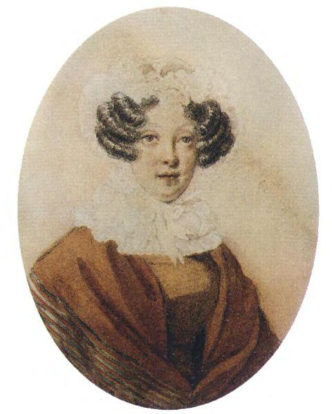 Гончарова (Загряжская) Наталья Ивановна кон.1820-х