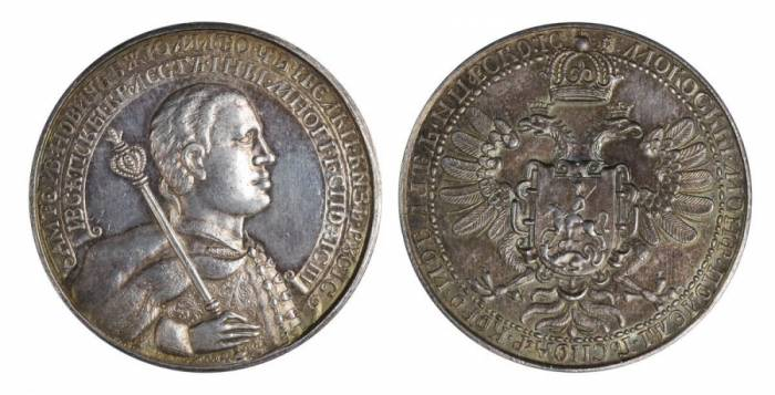 рубль Лжедмитрия 1605-1606 г