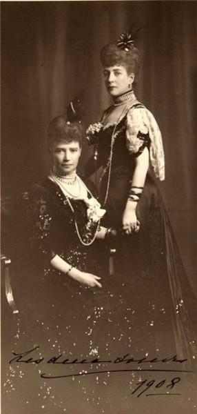 королева Александра и императрица Мария Феодоровна