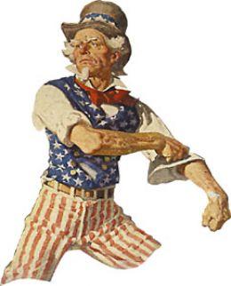 """символ США """"дядя Сэм"""""""