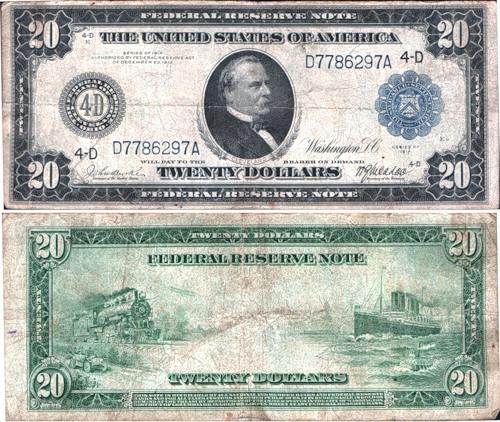 доллар 20