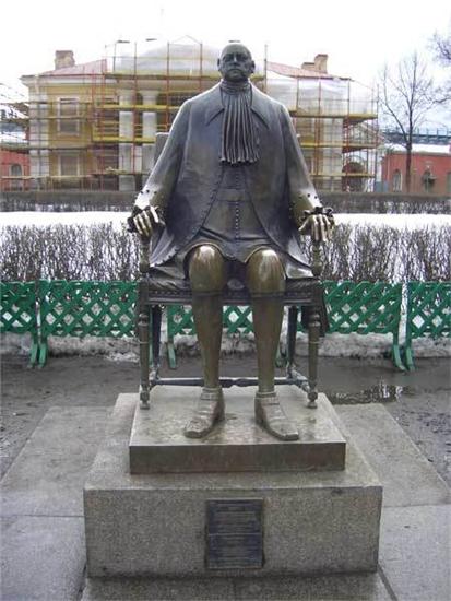 Петр-1 скульптура Шемякина