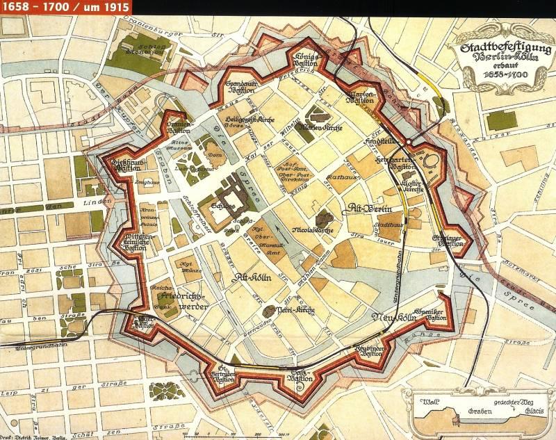 Берлин крепость