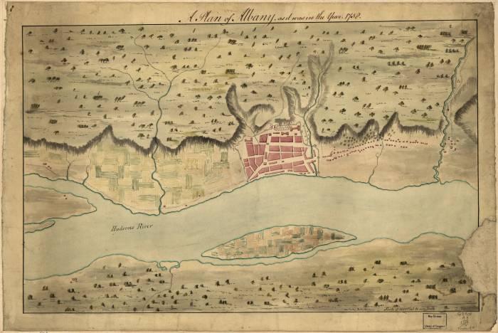 Олбани 1758