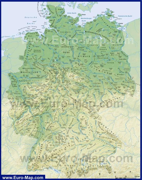 водные пути Германии