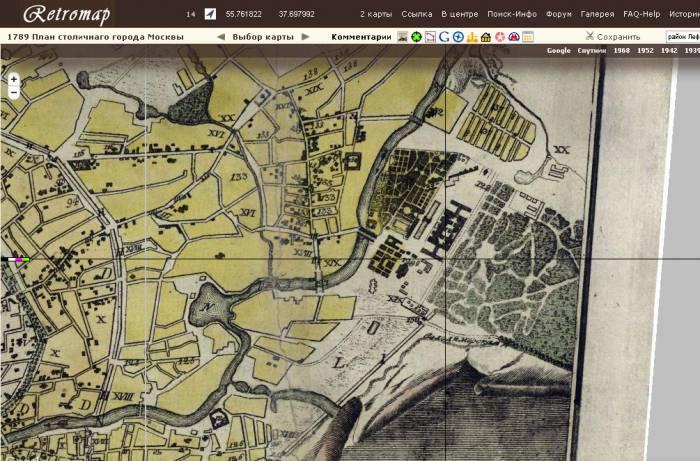 Лефортовский парк 1789-1