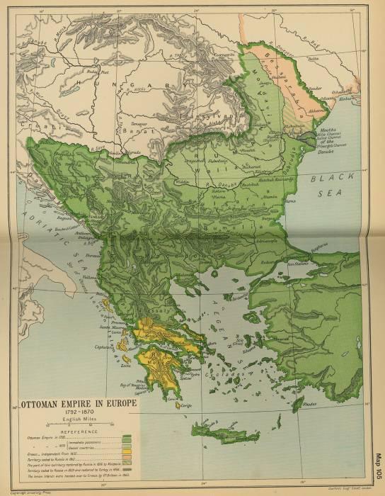 Османская империя 1792-1870