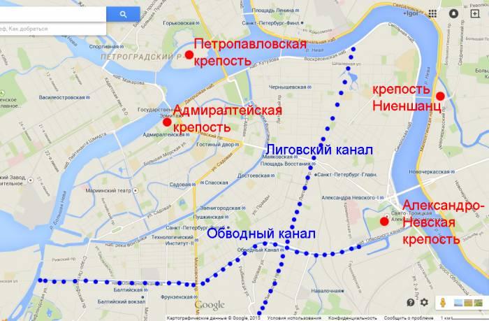 Петербург Обводный канал