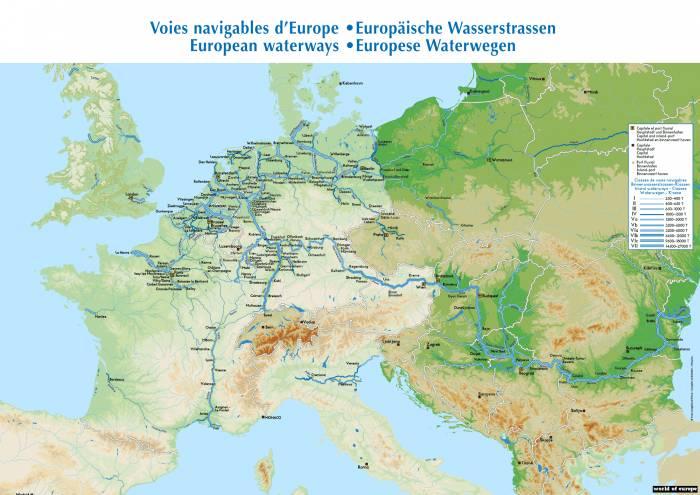 Европа речной транспорт