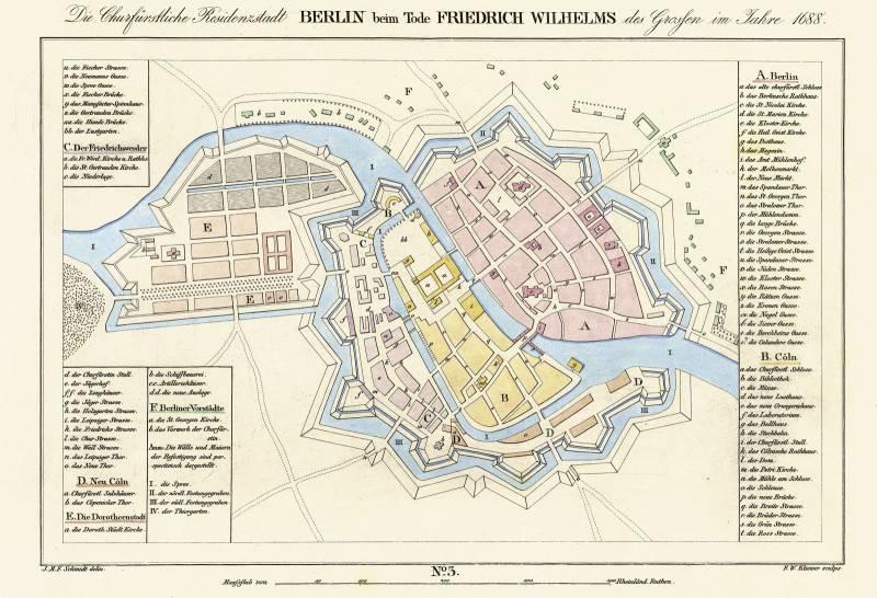 Берлин 1688 крепость
