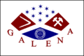 флаг города Галена
