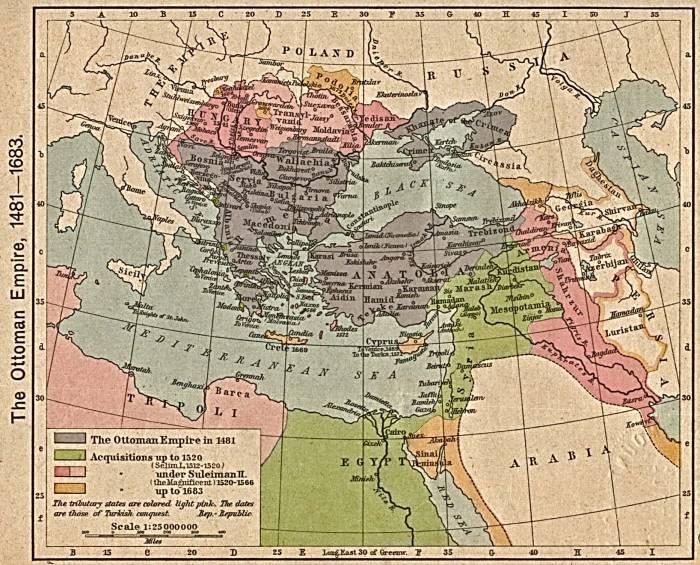 Османская империя 1481-1683
