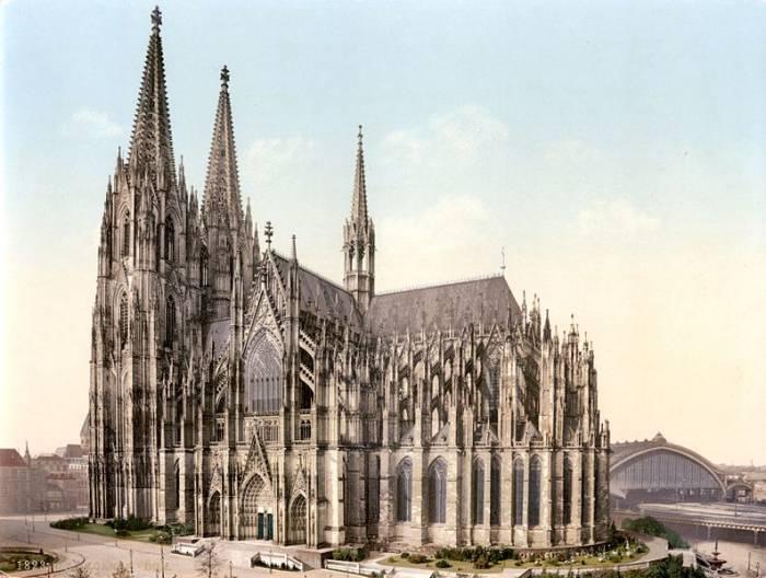 Кельнский собор 1900 г