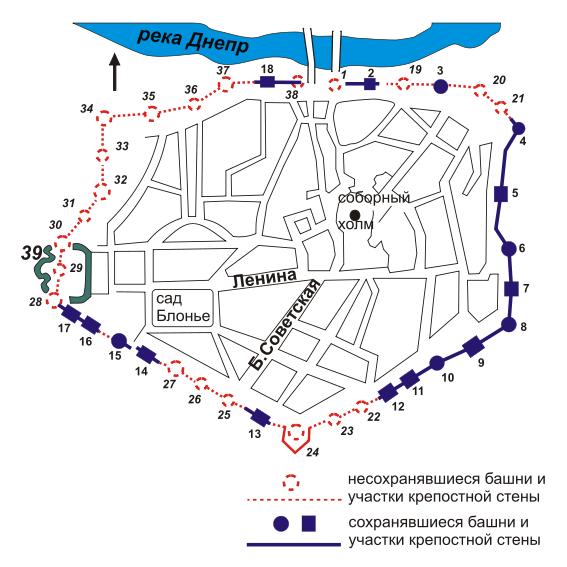 схема Смоленск
