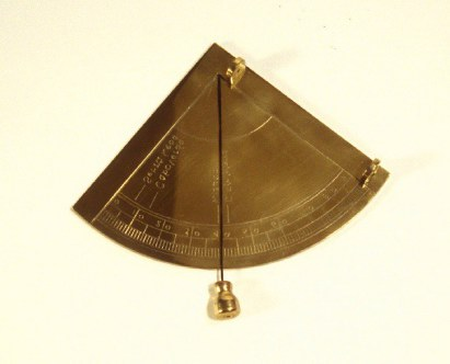 измерение углов квадрантом