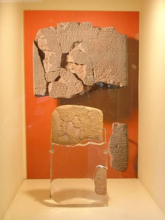 Istanbul - Museo archeol. - Trattato di Qadesh fra ittiti ed egizi (1269 a.C.) - Foto G. Dall'Orto 28-5-2006.jpg