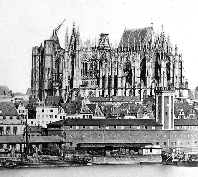 Кельнский собор 1856 г