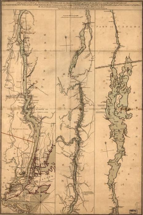 Нью-Йорк 1777 и Гудзон