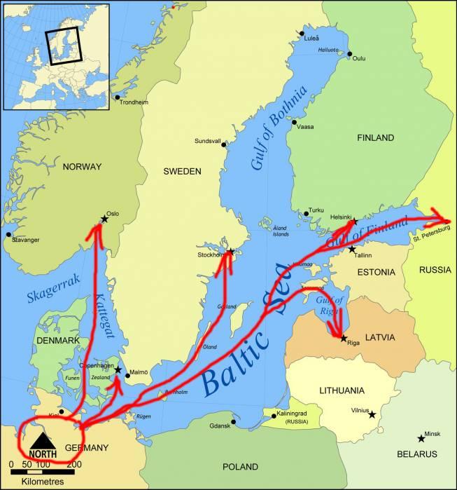 Балтика-Ольденбурги