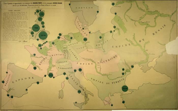 1850-е годы водный транспорт в Европе