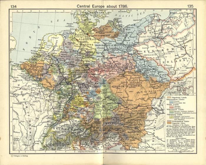 Европа 1786