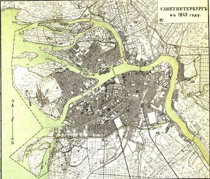 Петербург 1849 год