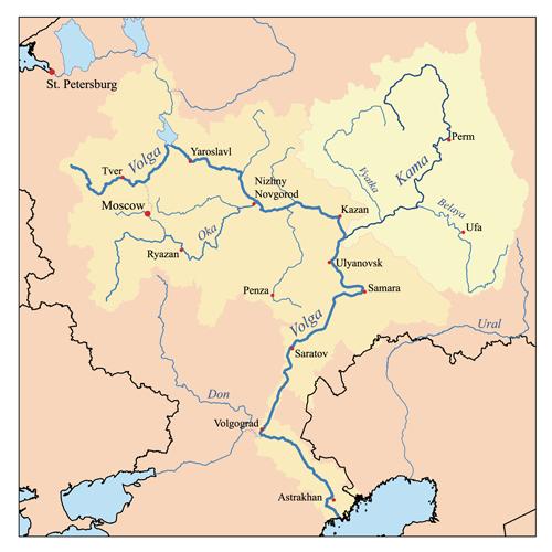 бассейн Волги