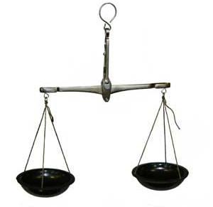 весы равноплечие