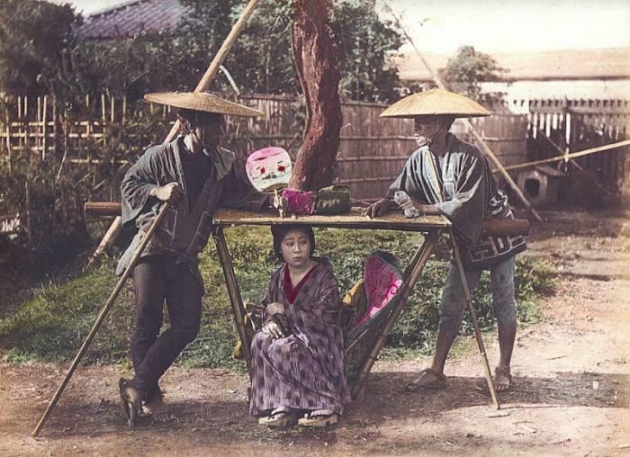 паланкин японский каго