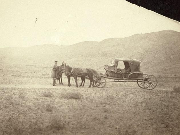 тарантас Дж. Кеннана и Дж. Фроста. 1885