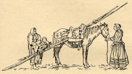 волокуша конная